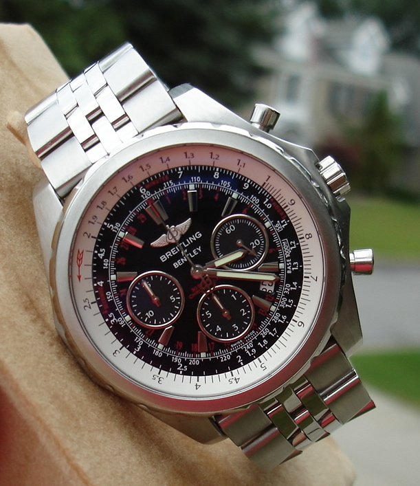 Breitling Bentley Motors T Replica Watches Review