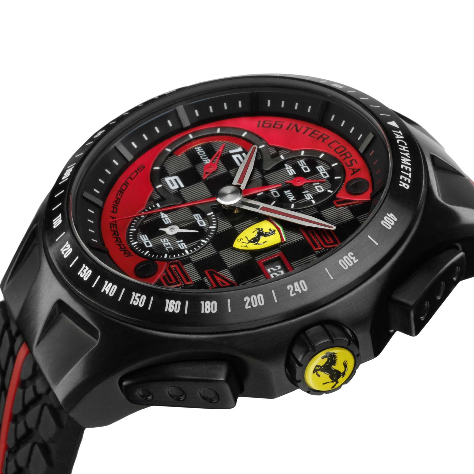 Replica Ferrari Watch With Red Colored Dial Best Swiss Breitling Replica Watches Show