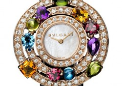 Bulgari Astrale series jewelry table filling the deep magic with the stars