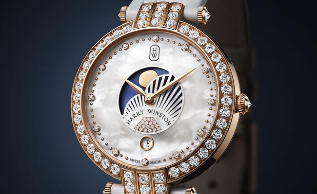 Replica Harry Winston highest regarded celestial satellite action 36mm standard on behalf of the final lunar routine