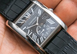 Look At Special Square Dial Cartier Tank Series MC Replica Chronograph