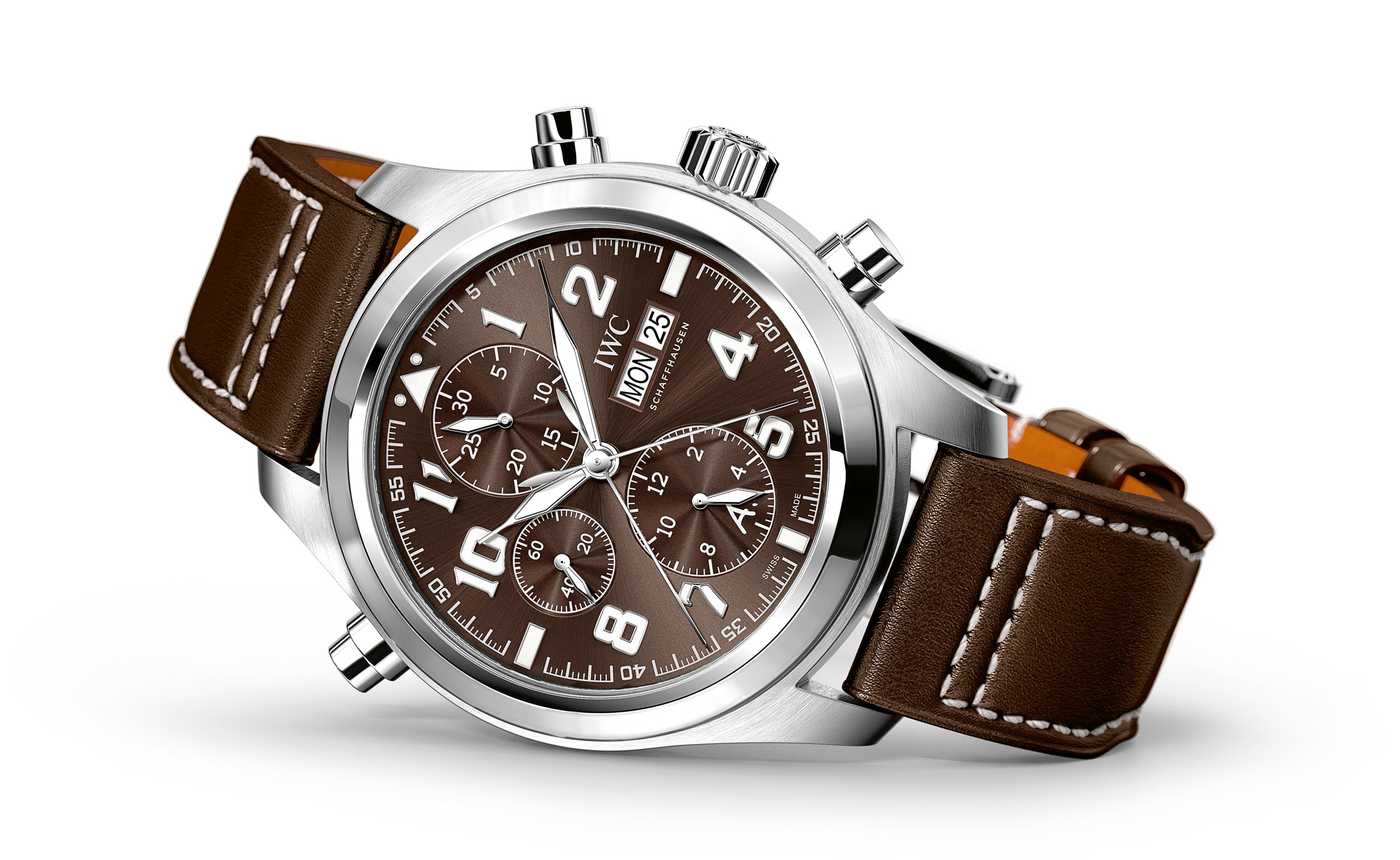 New iwc watch iwc double chronograph edition antoine de saint exupery replica watch best for Replica watches