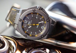 Closer Look At The IWC Ingenieur Automatic AMG GT Edition Replica Watch