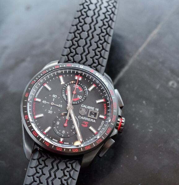 b4d8ea238ca Replica TAG Heuer Carrera Calibre 16 Senna Edition Available In Two Editions