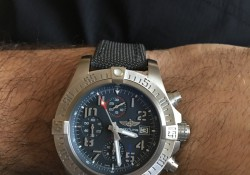 Wrist On Luxury And Cheap Breitling Avenger Bandit Replica Watches