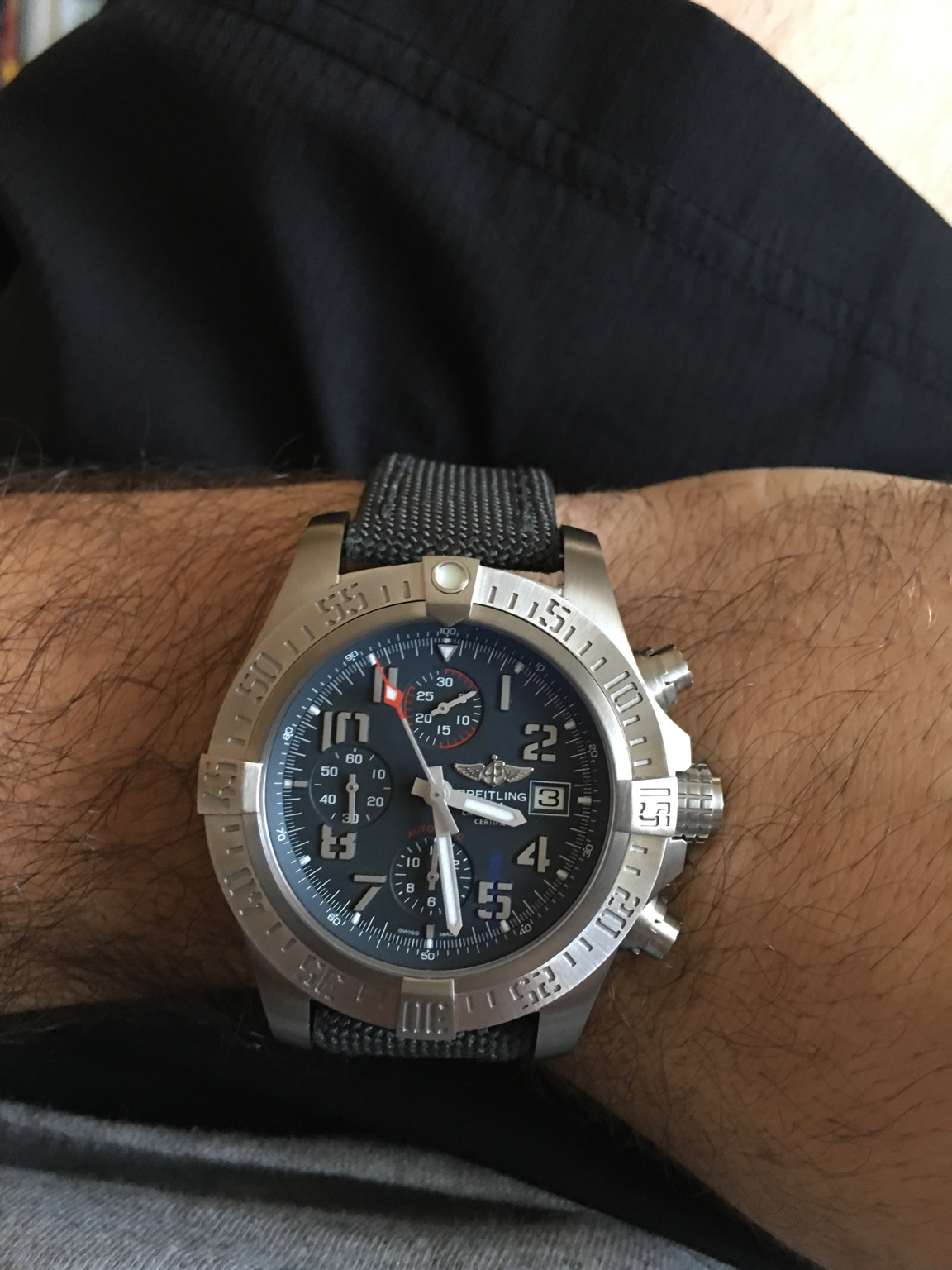 mens designer watches breitling 9u2o  Wrist On Luxury And Cheap Breitling Avenger Bandit Replica Watches