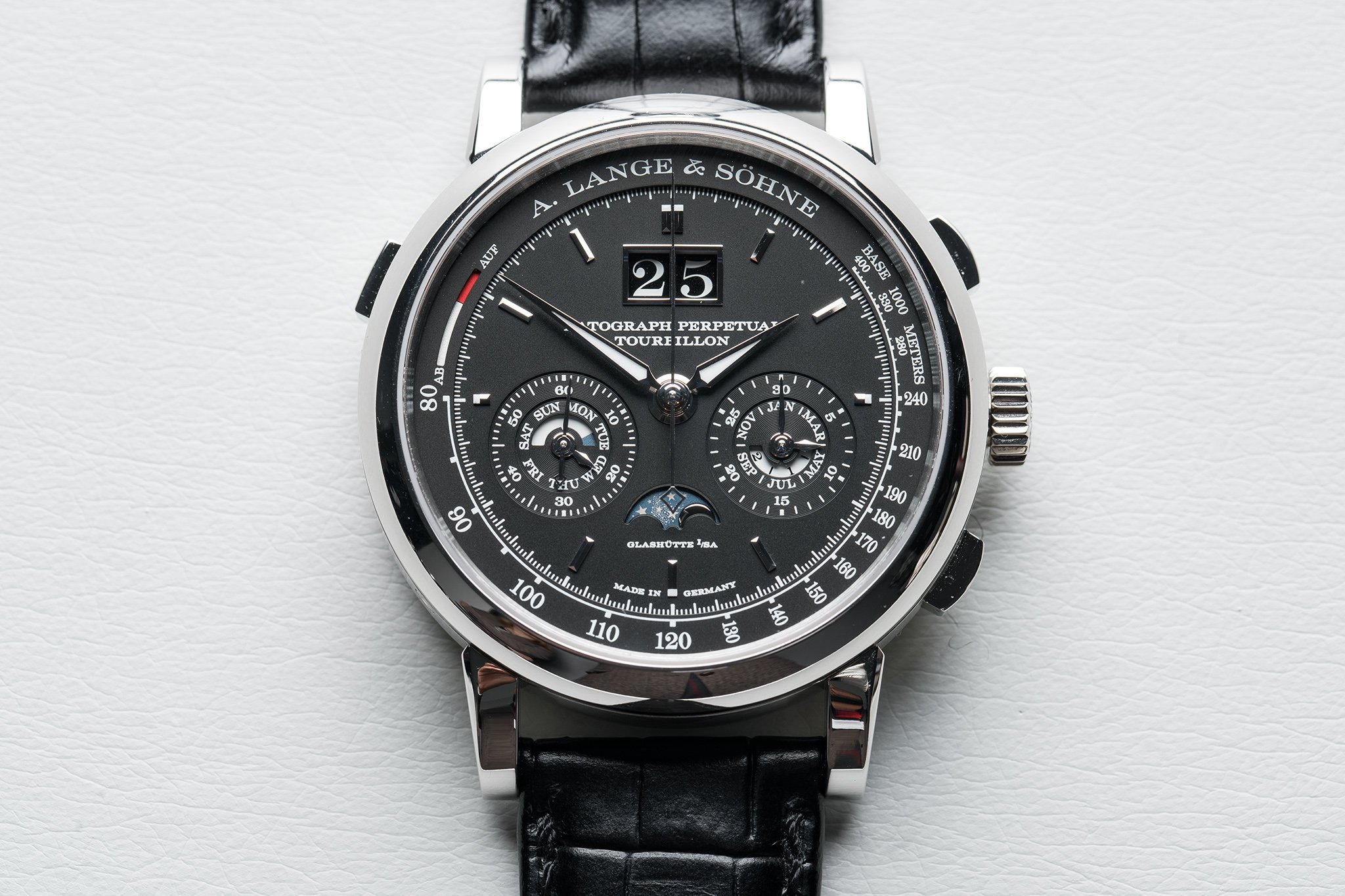 Take A Look At The Polished, Delicated A. Lange & Sohne Datograph Perpetual  Tourbillon