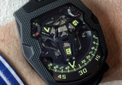 Come To Look At The Interesting, Complicated And Sporty Urwerk UR-210 'Clou De Paris' Replica Watch