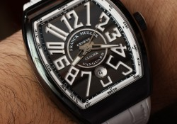 Franck Muller Presents The Modern Impressive Vanguard Glacier Replica Watch