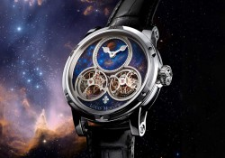 Show You The Louis Moinet Sideralis Inverted Double Tourbillon Replica