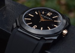 Hands-On With Bvlgari Octo Solotempo Ultranero Black Dial Replica