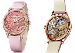 On the Wrist:Chopard L.U.C XP With Pink Dial Ladies Replica Watches