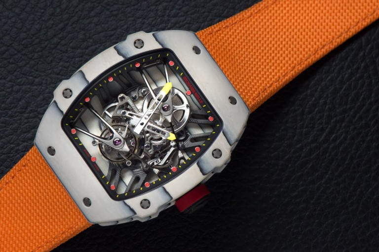 Breitling Bentley Watch >> On the Wrist:Richard Mille Rm 27-02 Rafael Nadal Replica ...