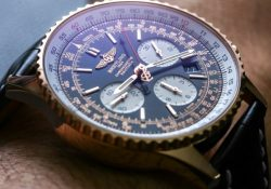 Take A Look At The Breitling Navitimer With Leather Strap Men's Replica