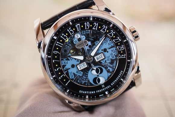 Let Us Review The Parmigiani Fleurier Centum Perpetual Calendar Openworked Graphite Replica