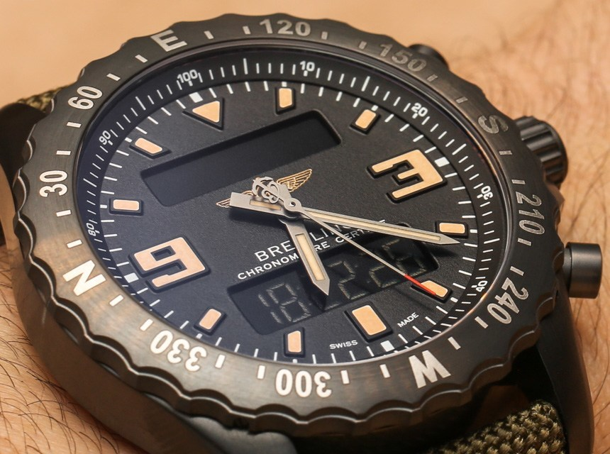 Breitling Chronospace Military Watch Hands-On Hands-On