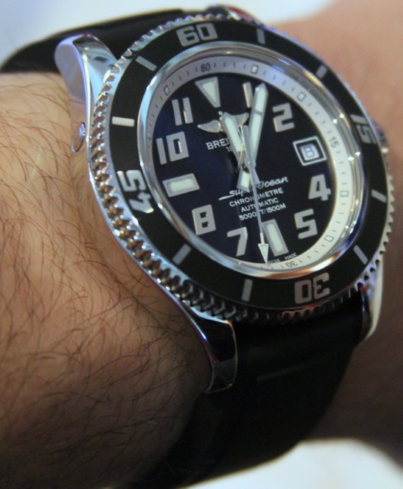 Breitling Superocean Watch For 2010 Hands-On Hands-On