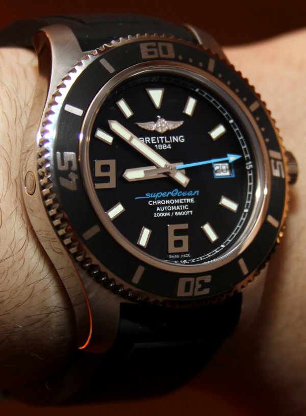 Breitling Superocean 44 Watches For 2011 Hands-On