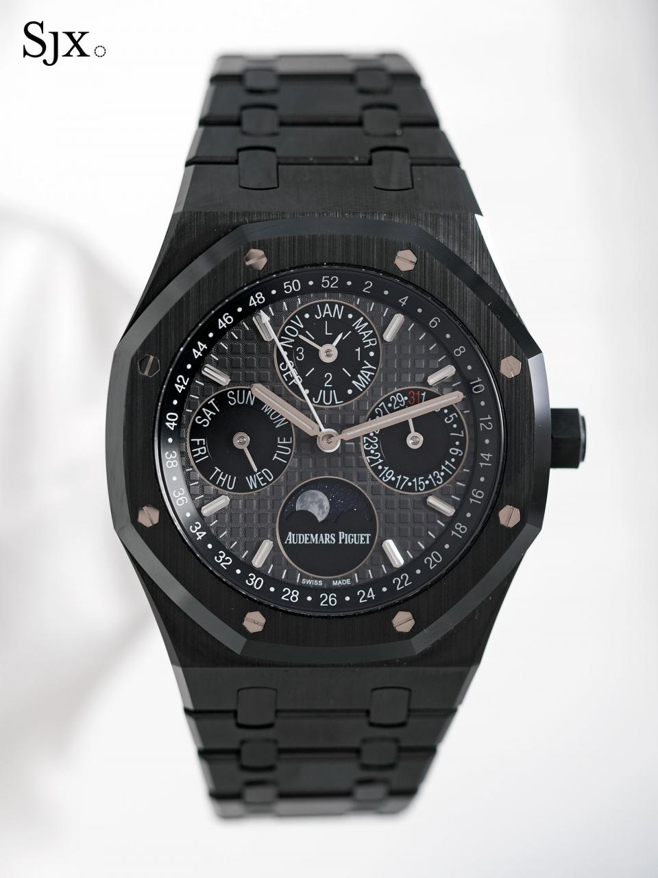 Audemars Piguet Royal Oak Perpetual Calendar Black Ceramic 01
