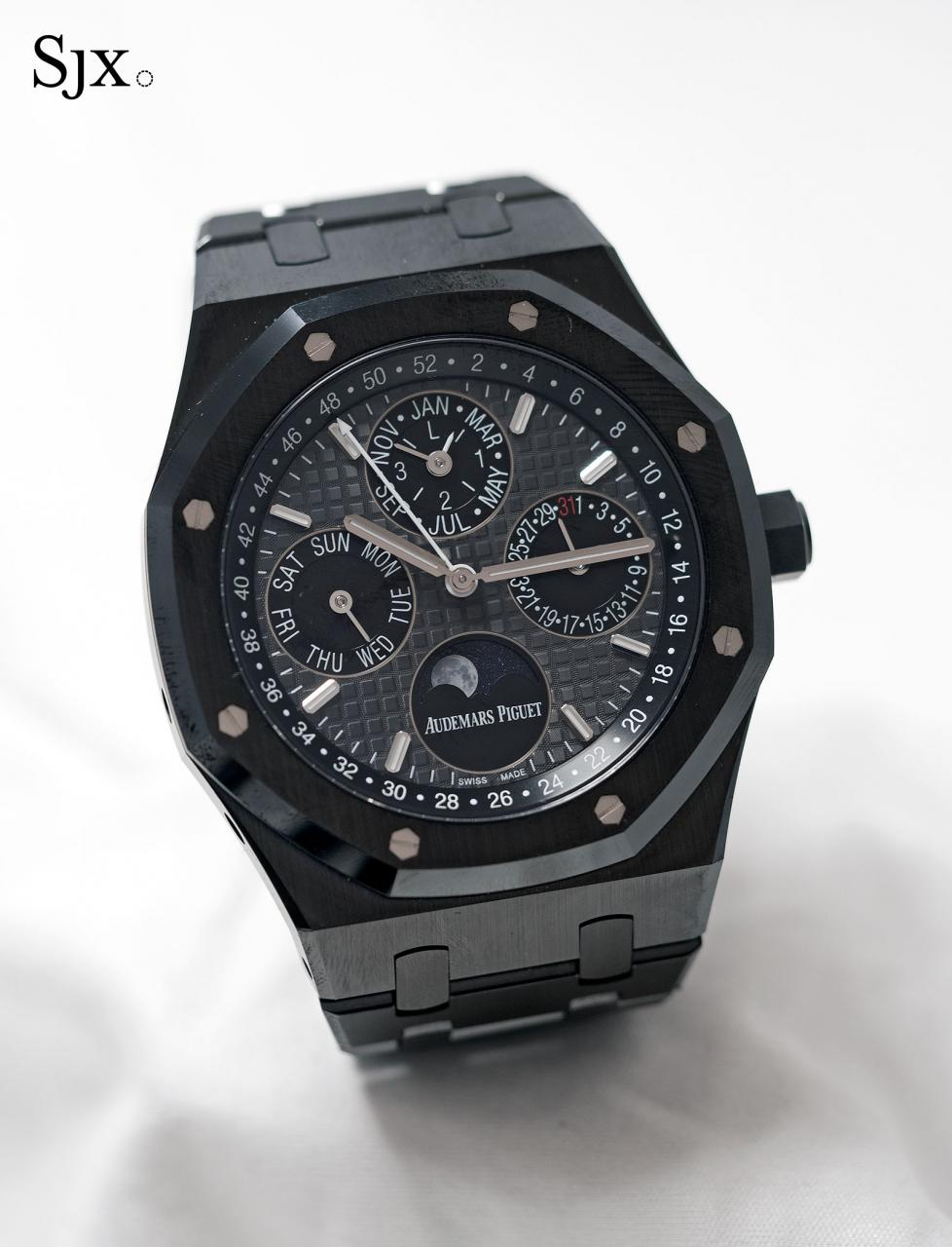 Audemars Piguet Royal Oak Perpetual Calendar Black Ceramic 05