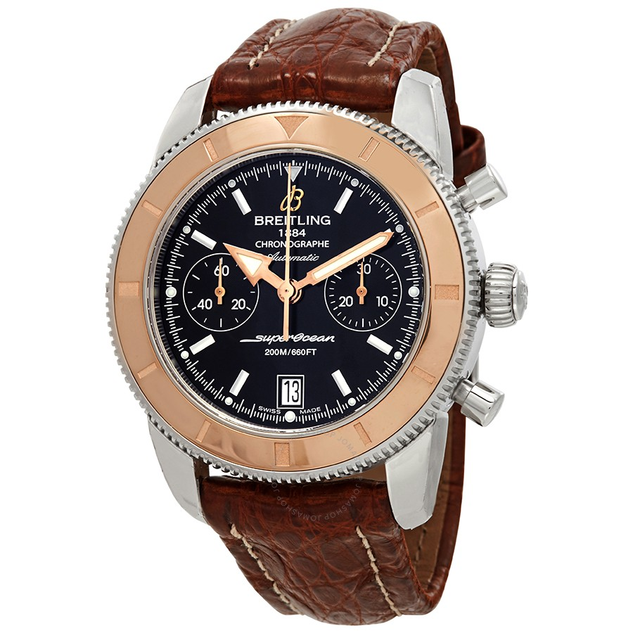 Breitling Superocean Heritage Chronograph Automatic Black Dial Men's Watch U2337012/BB81BRCT