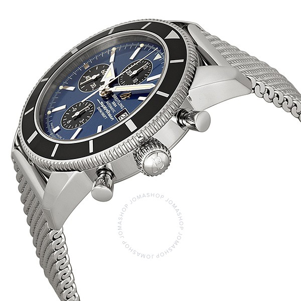 Breitling Superocean Heritage Chronographe Metallic Blue Dial Automatic Men's Watch A1332024-C817SS